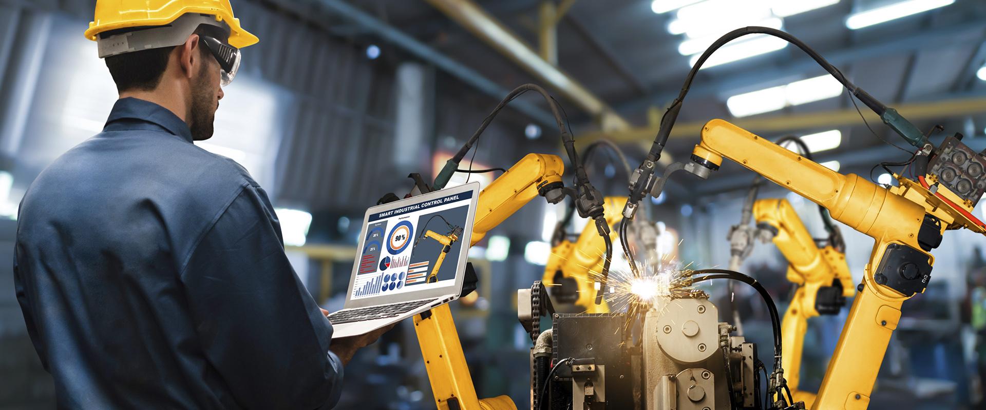 ¿Cómo programar un robot industrial?